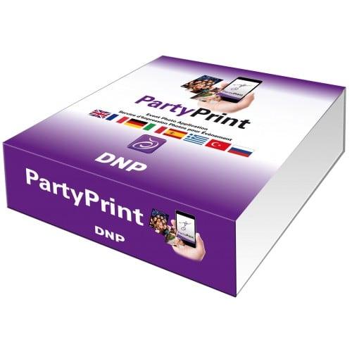 DNP - Logiciel Party Print - Application mobile pour l'événementiel - Permet aux participants d'imprimer leurs photos via leur smartphone