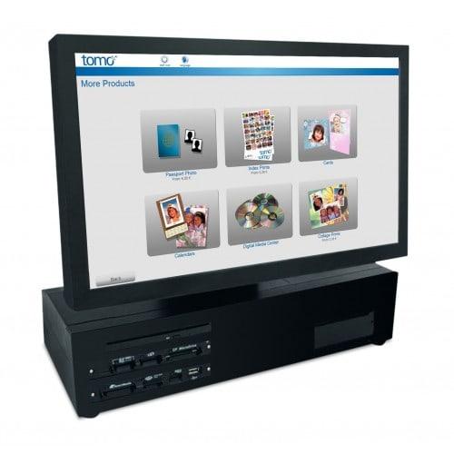 """DNP - Borne (sans imprimante) DST4 21"""" + logiciel TOMO - En remplacement d'une DST3 - En complément pour un Nexlab6+ - Compatible toutes imprimantes DNP"""