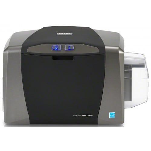 Imprimante thermique DNP DTC1250E recto-verso - Format carte 85,6 x 53,9mm