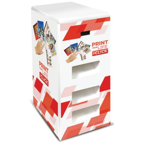 Meuble MITSUBISHI FLEXILAB pour maxi 3 imprimantes (CPD90DW / CP80DWS / CPD70DWS / CPD707DWS / CPK60DWS / CP3800DW)
