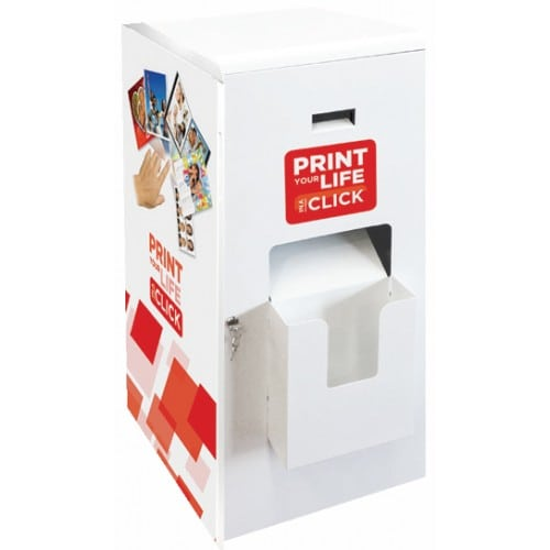 Meuble MITSUBISHI FLEXILAB pour imprimante recto/verso CP-W5000DW