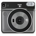 FUJI - Appareil photo instantané Instax Square SQ6 Graphite Gray - Format photo 62 x 62mm Livré avec 2 piles lithium CR2/DL CR2