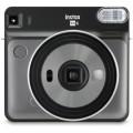 FUJI - Appareil photo instantané Instax Square SQ6 Graphite Gray - Format photo 62 x 62mm Livré avec 2 piles lithium CR2/DL CR2