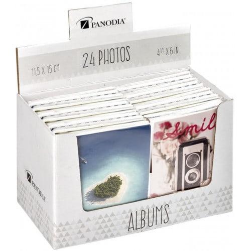 Mini album photo PANODIA FANTAISY - 24 photos 11,5x15 - Pochettes - Couverture souple - modèle aléatoire si achat d'1 à 5 albums
