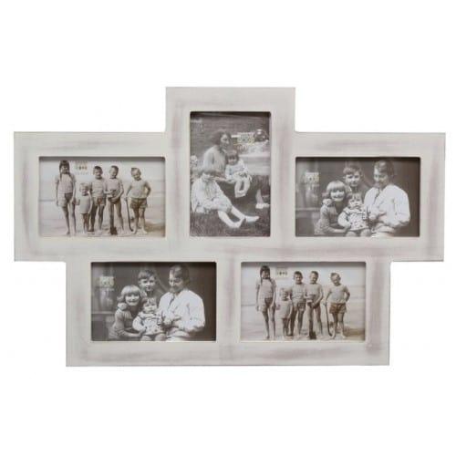 Cadre photo DEKNUDT S67TM P5 - Bois - pour 5 photos 10x15cm