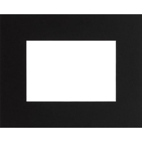 BRIO - Passe partout - Format extérieur 24x30cm - Fenêtre 15x20cm - Noir