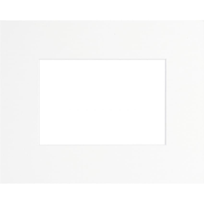 Passe partout BRIO - Format extérieur 30x40cm - Fenêtre 20x30cm/A4 - Blanc