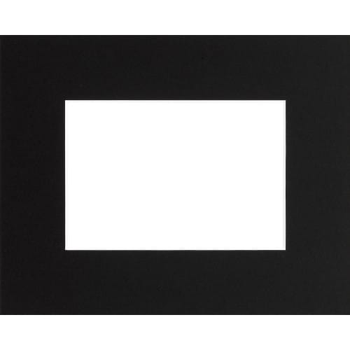 BRIO - Passe partout - Format extérieur 40x50cm - Fenêtre 24x30cm - Noir