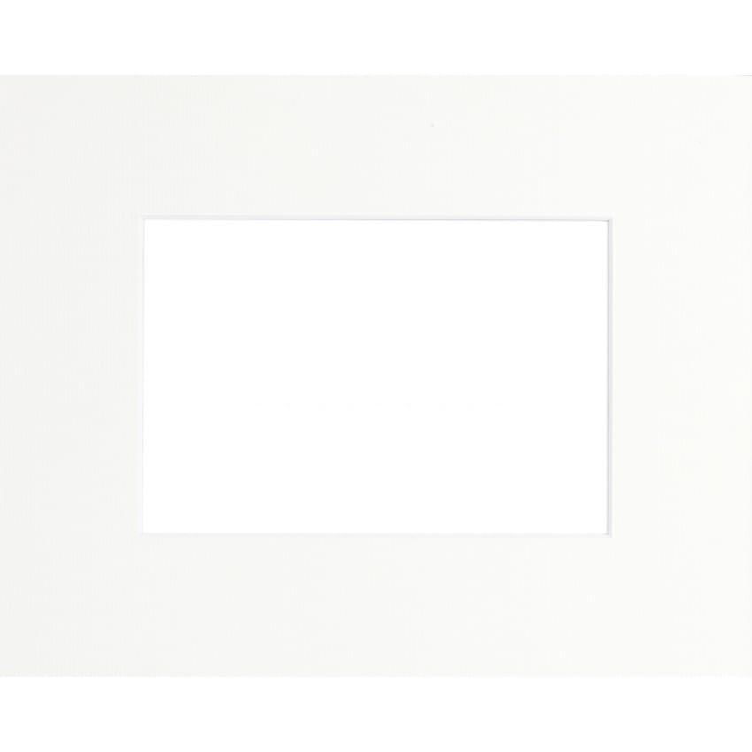 Passe partout BRIO - Format extérieur 40x50cm - Fenêtre 30x40cm - Blanc cassé