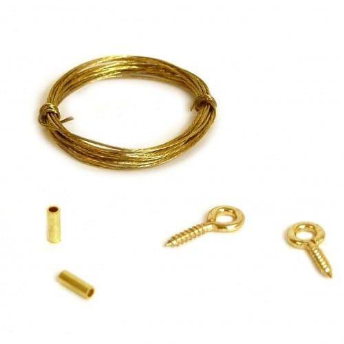 BRIO - Attache métallique - Kit fil de cuivre - Boite