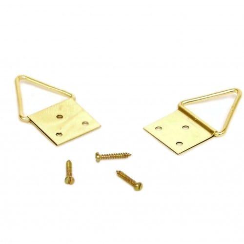 BRIO - Attache métallique triangulaires 16mm - Boite de 12