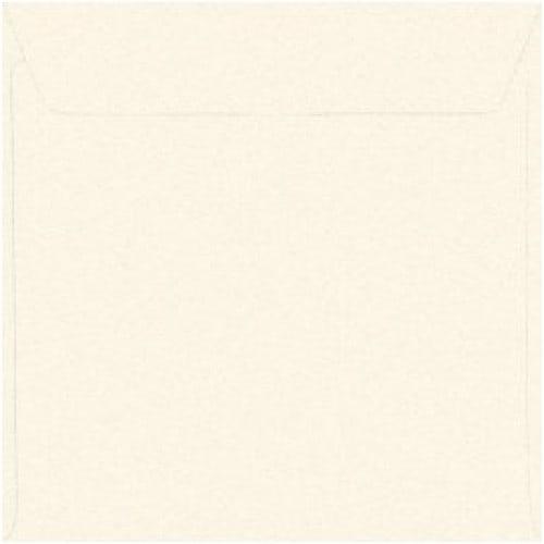 Enveloppe MB TECH blanche nacrée 14 x 14cm (Conseillée pour le Faire-part PFP017)