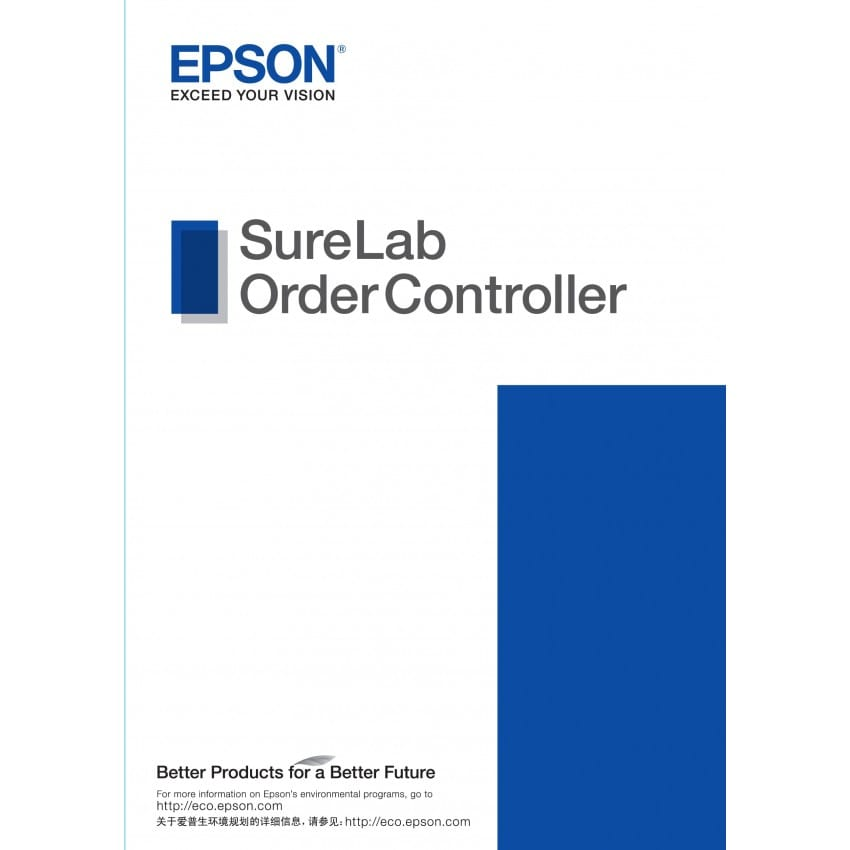 Logiciel EPSON SureLab Order Controller Light Edition pour Imprimante jet d'encre SureLab D700 (réf. C12C932691)