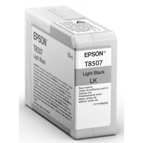 Cartouche d'encre traceur EPSON SC-P800 - Gris - 80ml - T8507