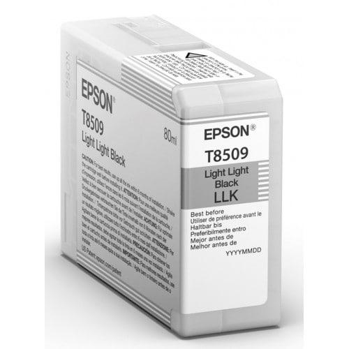 Cartouche d'encre traceur EPSON SC-P800 - Gris clair - 80ml - T8509
