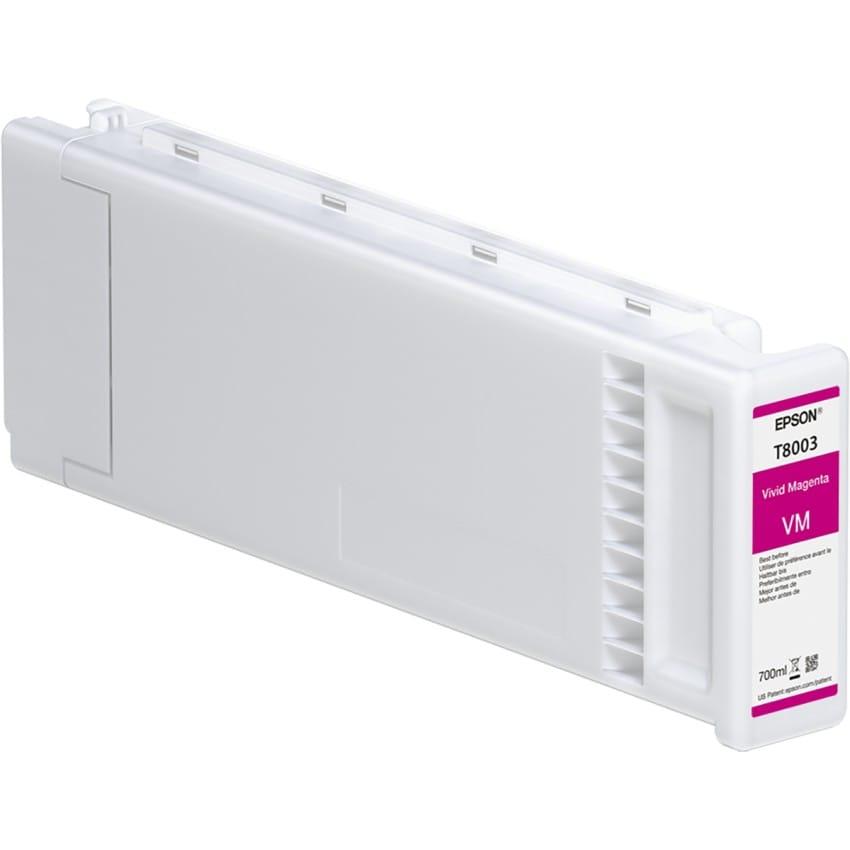 Cartouche d'encre traceur EPSON T8003 Pour imprimante SC-P10000 & SC-P20000 Vivid magenta - 700ml