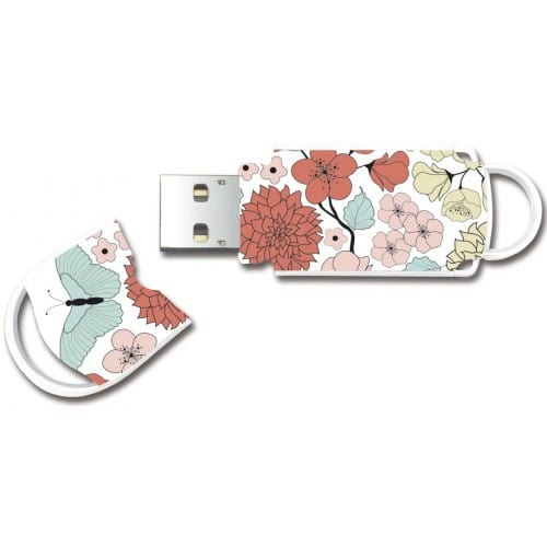 "Clé USB 2.0 INTEGRAL Xpression ""Butterfly"" - 16 GB"