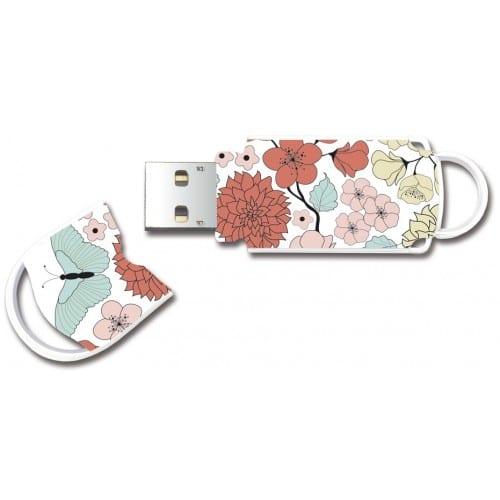 "Clé USB 2.0 INTEGRAL Xpression ""Butterfly"" - 32 GB"