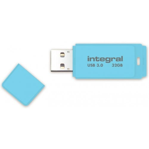 Clé USB 3.0 INTEGRAL Flash Drive Pastel 32 GB (Bleu)