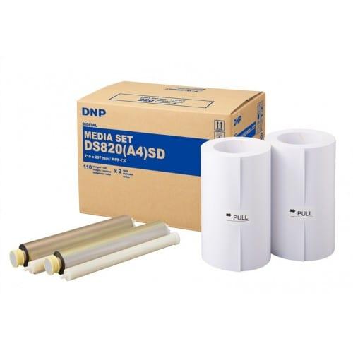 Consommable thermique DNP pour DS820 (Standard Digital) - A4 - 220 tirages