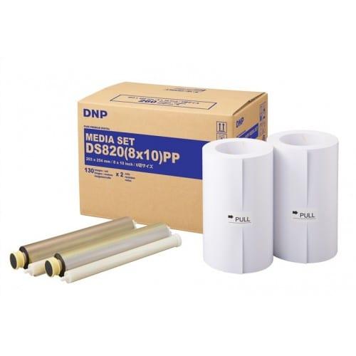 Consommable thermique DNP pour DS820 (Pure Premium Digital) - 20x25cm - 260 tirages