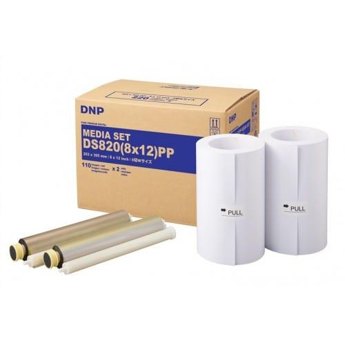 Consommable thermique DNP pour DS820 (Pure Premium Digital) -  20x30cm - 220 tirages