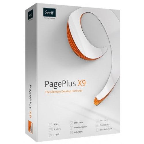 Logiciel TECHNOTAPE PagePlus X9 Publisher pour Windows (livré avec plus de 200 templates pour sublimation sur t-shirts, mugs, as