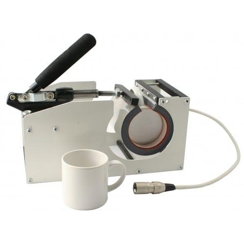Presse transfert thermique MB TECH supplémentaire pour tasses diamètre 7 à 8cm (s'adapte à la réf. TMPS001)