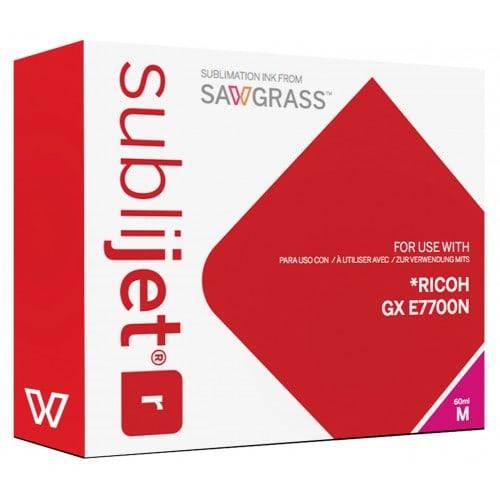 Encre sublimation SAWGRASS Sublijet - Magenta 60ml - pour RICOH Gxe 7700N
