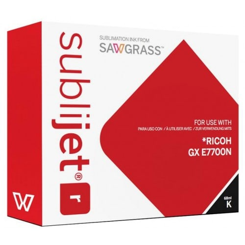 Encre sublimation SAWGRASS Sublijet - Noire 68ml - pour RICOH Gxe 7700N