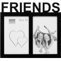 DEKNUDT - Cadre photo multivues S68NK P2C FRIEND (bois) pour 2 photos 10x15cm