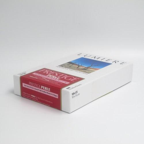 Papier jet d'encre LUMIERE LUMIERE PRESTIGE papier RC perlé 310g - 10x15cm - 100 feuilles