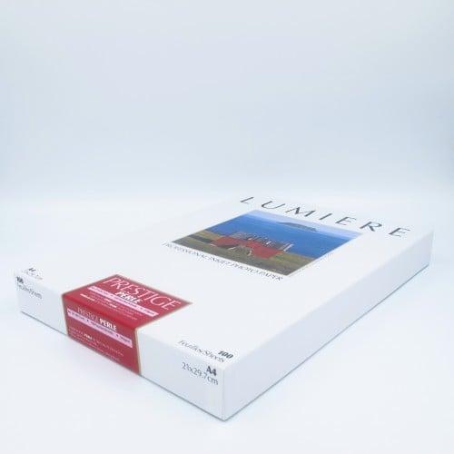 Papier jet d'encre LUMIERE LUMIERE PRESTIGE papier RC perlé 310g - A4 - 100 feuilles