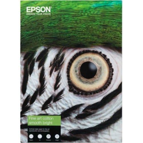 Fine Art Cotton Smooth Bright mat 300g - A2 (42x59,4cm) - 25 feuilles