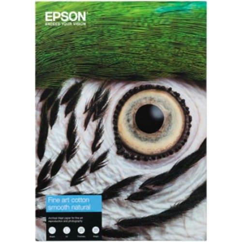 Fine Art Cotton Smooth Natural mat 300g - A2 (42x59,4cm) - 25 feuilles