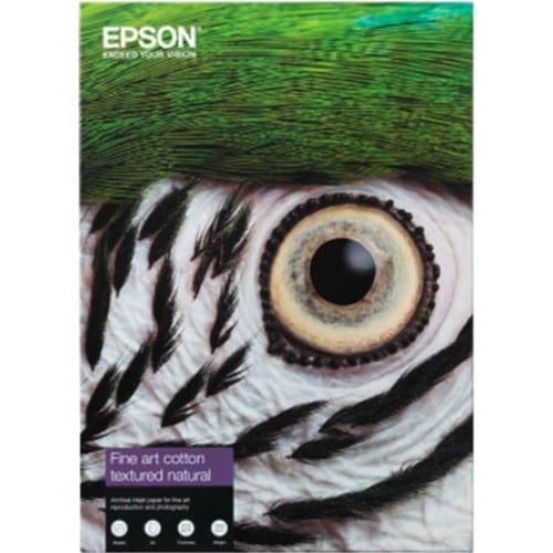 Fine Art Cotton Textured Natural mat 300g - A2 (42x59,4cm) - 25 feuilles