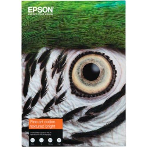 Fine Art Cotton Textured Bright mat 300g - A4 (21x29,7cm) - 25 feuilles