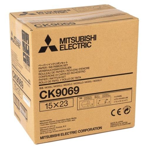 Consommable thermique MITSUBISHI pour CP-9550DW / CP9800DW / CP9810DW - 15x23cm - 270 tirages