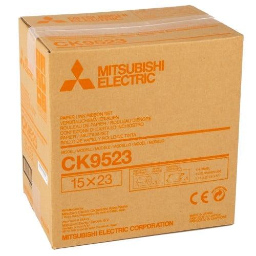Consommable thermique MITSUBISHI pour CP-9550DW-S / CP-9800DW-S / CP9820DW-S - 15x23cm - 270 tirages