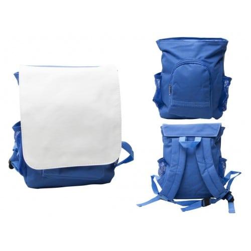 Sac à dos enfants bleu 200x207mm pour sublimation