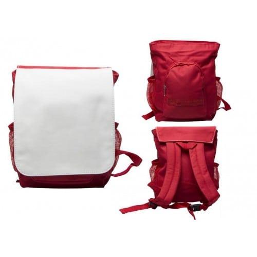 Sac à dos enfant rouge 200x207 mm pour sublimation