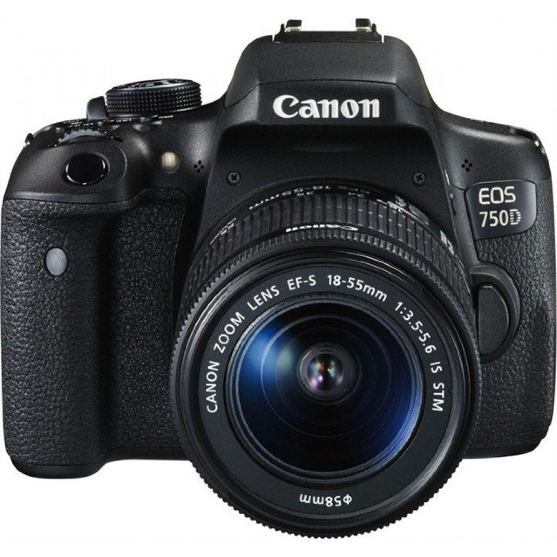 863be1d55b708 Appareil reflex numérique CANON EOS 750D boitier + optique 18-55 IS STM - 24