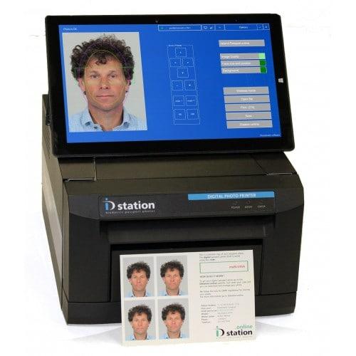 """Complete - Wifi : imprimante + tablette tactile 11,6"""" + logiciel biométrique automatique + contrôleur de CamFi"""