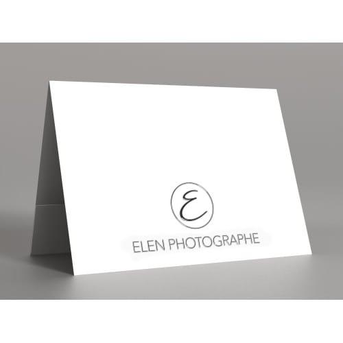 papier blanc satiné 350g  - Impression 1ère et 4ème de couverture avec Vernis 3D