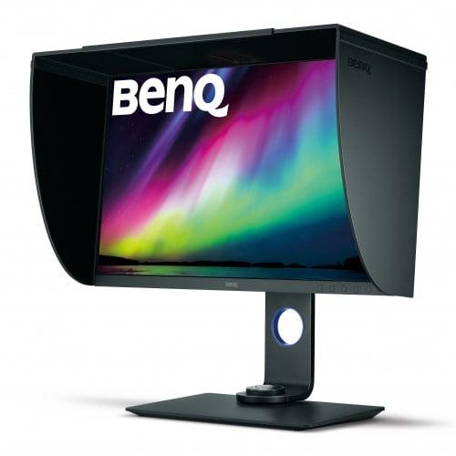 """BenQ - Ecran LED SW271 Pro IPS 27"""" Dalle 4K Ultra Haute Définition - Livré avec casquette"""