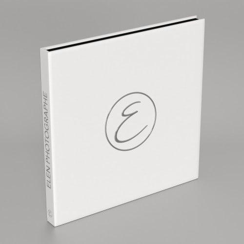 Album Cracblock - 48 pages noires (24 feuillets) - Impression couverture avec dorure argent