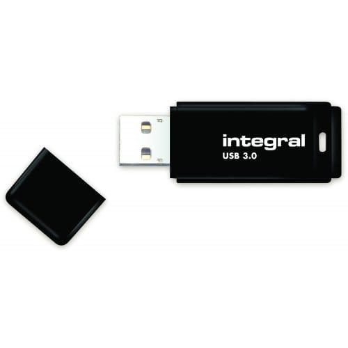 INTEGRAL - Clé USB 3.0 Drive Noire 8 GB