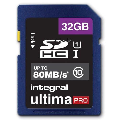 HC Classe 10 - 32GB Ultima Pro Full HD (80MB/s)