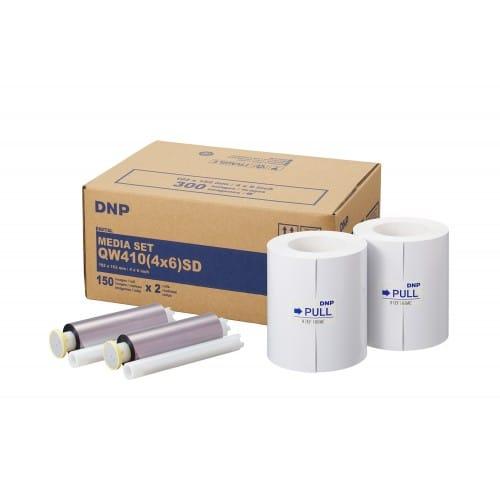 DNP - Consommable thermique pour DP-QW410 (Standard Digital) - 300 tirages 10x15