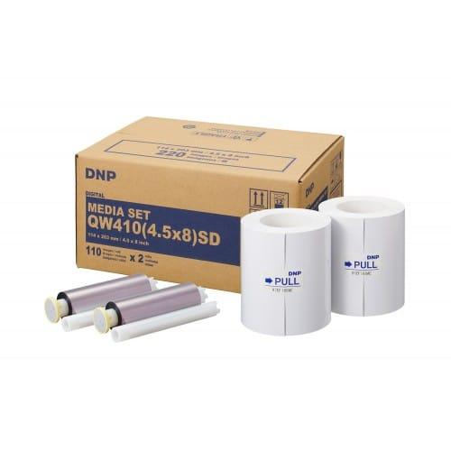 DNP - Consommable thermique pour DP-QW410 (Standard Digital) - 220 tirages 11x20